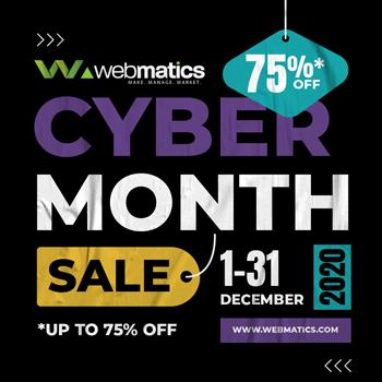 Cyber-Month-Webmatics 5