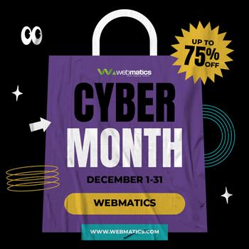 Cyber-Month-Webmatics 2
