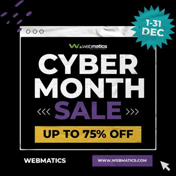 Cyber-Month-Webmatics 3